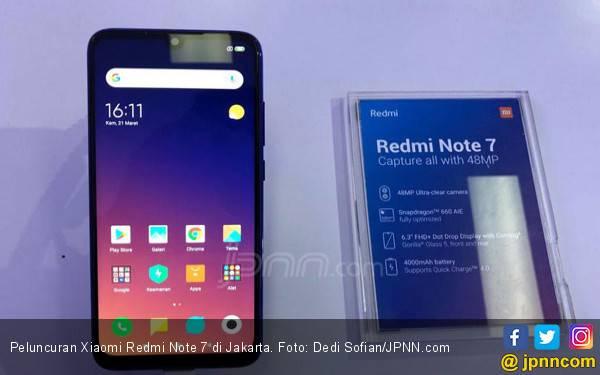 Xiaomi Redmi Note 7 Resmi Hadir, Berikut Performa dan Harganya - JPNN.com