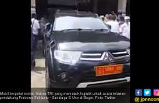 Penjelasan Mabes TNI soal Mobil Dinas Angkut Logistik Relawan Prabowo - Sandi - JPNN.com