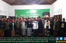 Para Gus Berkumpul di Permakaman, Berikrar Menangkan Jokowi - Ma'ruf di Mataraman - JPNN.com
