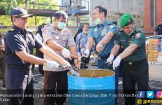 Bea Cukai Denpasar Musnahkan Barang Hasil Penindakan Senilai Rp 1,4 Miliar - JPNN.com