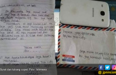Surat dari Tukang Copet Buat Korbannya - JPNN.com