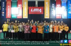 13 Kampus Ramaikan LIMA Badminton CJYC 2019 - JPNN.com