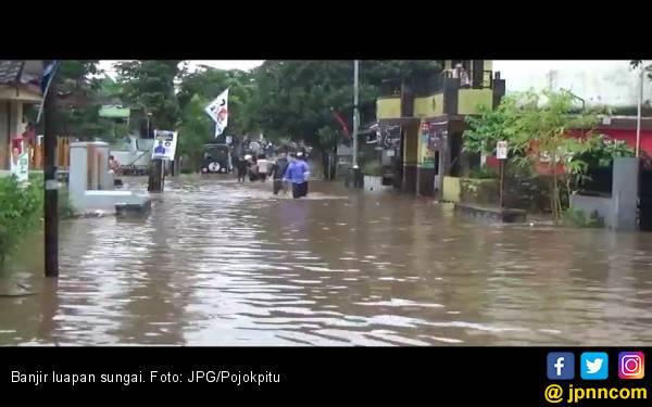 Kali Bekasi Meluap, Sejumlah Wilayah di Bekasi Banjir - JPNN.com