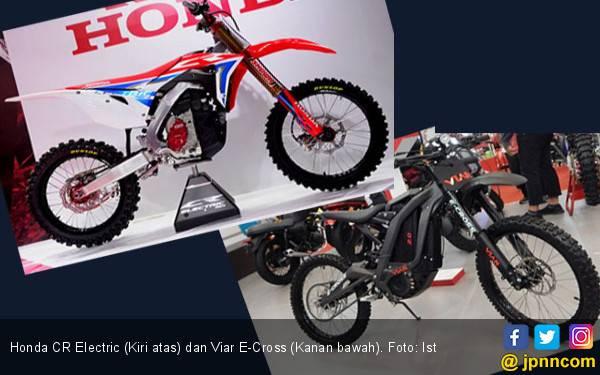 Motor Trail Listrik Honda Ditunggu Viar E-Cross di Indonesia - JPNN.com