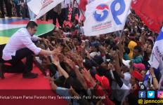 Jokowi Menang Quick Count Pilpres 2019, Hary Tanoe Ajak Semua Pihak Bersatu - JPNN.com