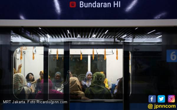 Halte Transjakarta Bundaran HI Terintegrasi dengan MRT Jakarta - JPNN.com