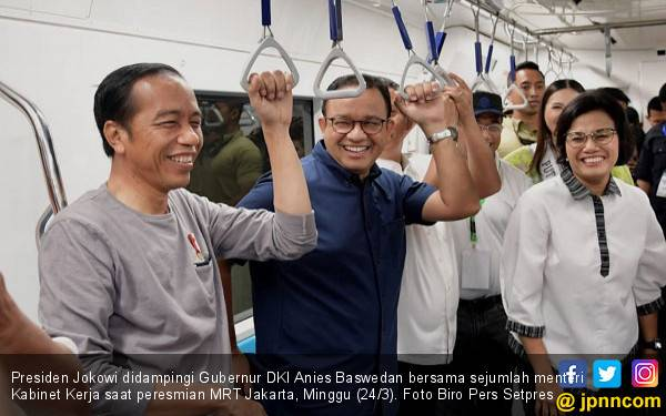 Perbaikan Transportasi Jakarta Dimulai dari Era Jokowi, Bukan Hasil Kerja Satu Gubernur Saja - JPNN.com