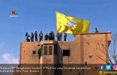 SDF Kuasai Baghouz, Kekhalifahan ISIS Resmi Tamat - JPNN.com