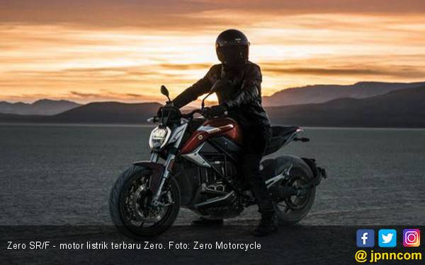 Zero SR/F Wujudkan Motor Listrik Pintar dengan Daya Jelajah Jauh - JPNN.com