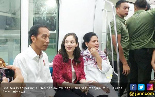 Chelsea Islan: Terima Kasih Pak Jokowi dan Ibu Iriana - JPNN.com