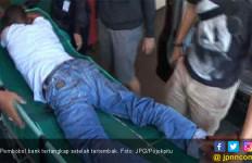 Doorr! Buronan Pembobolan Bank Ditembak Polisi - JPNN.com