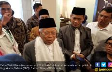 Ma'ruf Amin Senang Dianggap Lebih Terkenal dari Sandiaga - JPNN.com