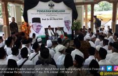 Ma'ruf Amin Minta Doa Santri dan Kiai di Pondok Pesantren An-Nawawi - JPNN.com