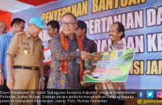 Kementan Salurkan Bantuan untuk Petani Sarolangun - JPNN.com