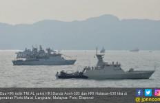 Terlibat Operasi Muhibah, Dua Kapal Perang TNI AL Tiba di Malaysia - JPNN.com