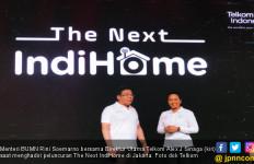 Menteri Rini Berharap Layanan IndiHome jadi Penggerak Masyarakat Digital - JPNN.com
