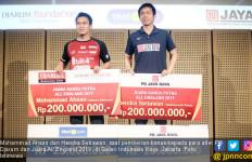 Pantang Menyerah, Ahsan / Hendra Diberi Bonus Rp 450 Juta dari PB Djarum - JPNN.com