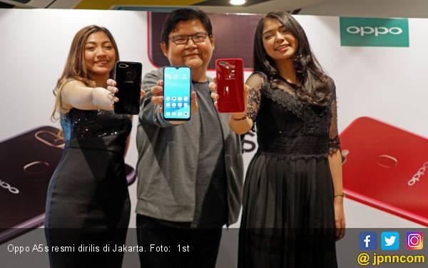 Oppo Rilis A5s di Jakarta, Ini Harga dan Spesifikasinya - JPNN.com