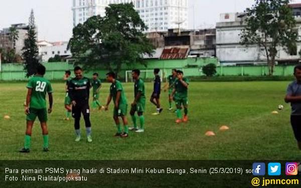 PSMS Gelar Latihan Perdana di Ramadan, Pemain PSPS Merapat Senin - JPNN.com