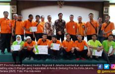 Pos Indonesia Beri Apresiasi Kepada O-Ranger Berprestasi - JPNN.com