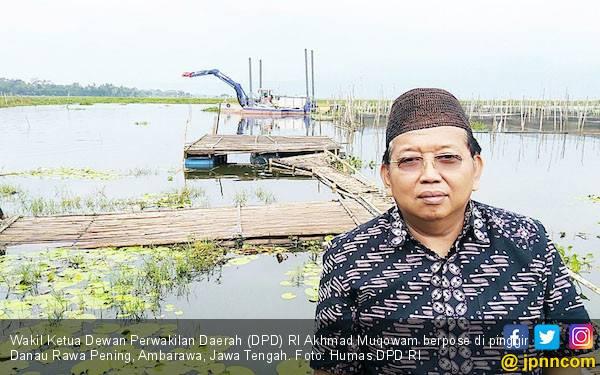 Akhmad Muqowam: Pemerintah Kurang Sosialisasi Program Optimalisasi Danau Rawa Pening - JPNN.com