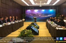 Ditjen Hubla Bahas SOP Penanggulangan Pencemaran Laut dengan AMSA - JPNN.com