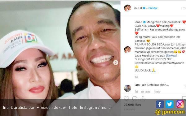 Inul Daratista Mantap Pilih Jokowi - Ma'ruf - JPNN.com