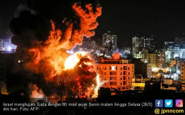 Balas Dendam, Israel Kembali Bombardir Gaza - JPNN.com