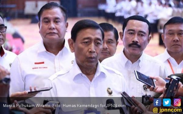Prabowo Larang Pendukungnya Datang ke MK, Wiranto: Saya Hormat Betul! - JPNN.com