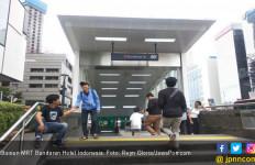 Hujan Deras Guyur Jakarta, Sejumlah Pintu Stasiun MRT Sempat Ditutup - JPNN.com