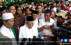 Kampanye di Bantul, Ma'ruf Amin: Memilih Pemimpin Wajib Hukumnya dalam Islam - JPNN.com