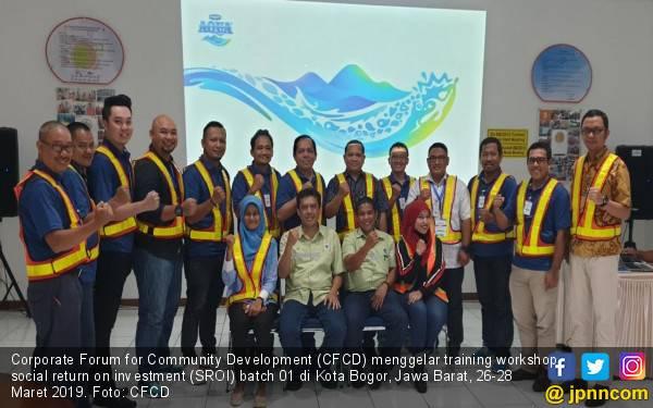 Tingkatkan Kualitas Kinerja CSR, CFCD Gelar Training Workshop SROI - JPNN.com