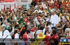 Kampanye di Balikpapan, Jokowi Umbar Janji soal Jalan Tol - JPNN.com