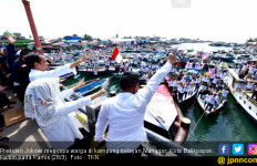 Sambutan Unik Nelayan Balikpapan untuk Jokowi - JPNN.com