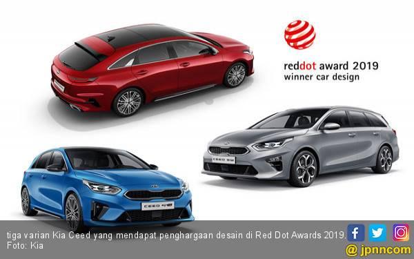 Kia Kembali Sabet 3 Penghargaan Desain di Red Dot Awards 2019 - JPNN.com