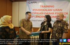 AFPI Sertifikasi 138 Komisaris dan Direksi Calon Penyelenggara Fintech - JPNN.com