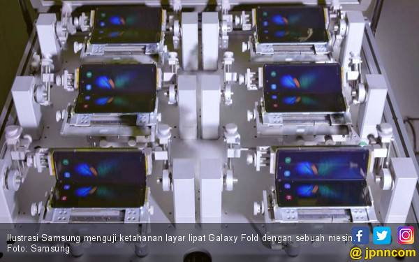 Gandeng T-Mobile, Samsung Galaxy Fold Dipasarkan Akhir Bulan Ini - JPNN.com