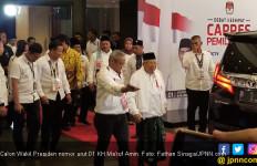 Kiai Ma'ruf Puji Penampilan Jokowi Saat Berdebat dengan Prabowo - JPNN.com