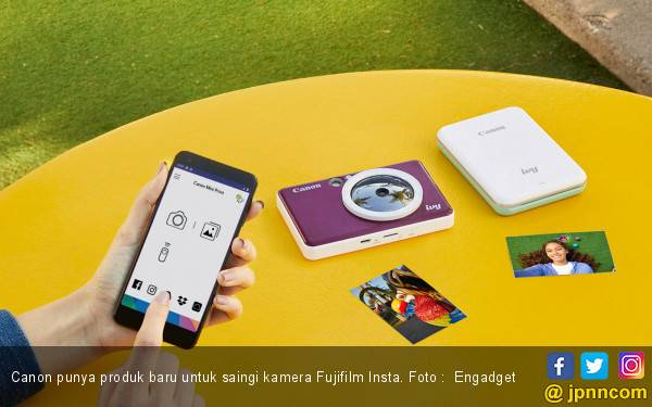 Yuhuu..Canon Punya Jagoan Baru untuk Saingi Kamera Fujifilm Instan - JPNN.com