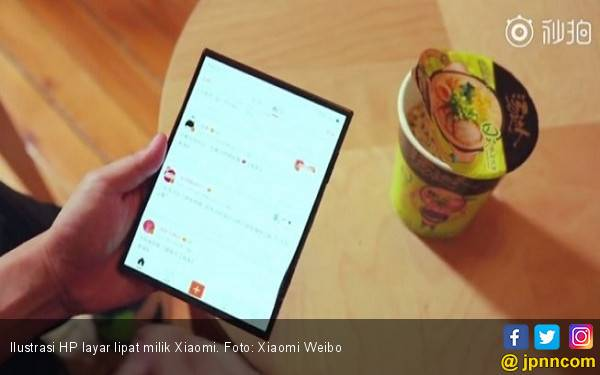 Xiaomi Akhirnya Mengungkap HP Layar Lipatnya, Bersiap Goyang Huawei dan Samsung? - JPNN.com