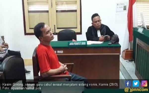 Cabuli Keponakan Sendiri, Oknum Guru SMPN Divonis 7 Tahun Penjara - JPNN.com
