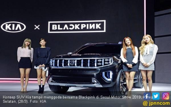 Blackpink Tampil Menggoda Bersama Konsep SUV Kia - JPNN.com