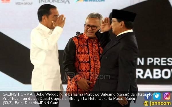 Jokowi - Ma'ruf Berjaya di Kota Keretek, Prabowo - Sandi Cuma Raih 23,4 Persen - JPNN.com