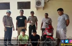 Polisi Berhasil Ringkus Dua Bandit Bersenpi Perampas Ponsel di Lampung - JPNN.com