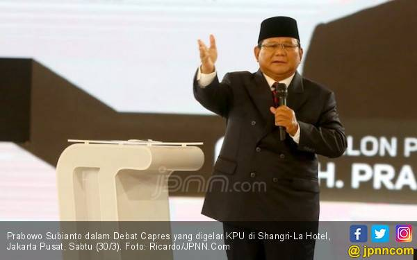 Prabowo Bahagia Karena KPK Juga Akui Ada Kebocoran Uang Negara - JPNN.com