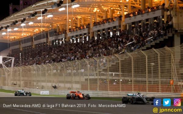 Hasil F1 Bahrain 2019: Dominasi Duet Ferrari Ketiban Sial, Mercedes Diuntungkan - JPNN.com