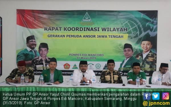 GP Ansor Siap Sukseskan Pemilu dan Pilpres 2019 via Rabu Putih - JPNN.com