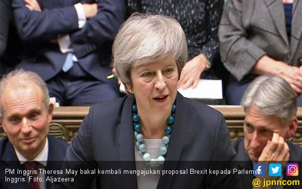 Manuver Mengejutkan May demi Loloskan Brexit - JPNN.com