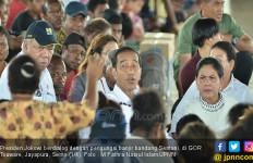 Jokowi Temui Korban Banjir Bandang Sentani - JPNN.com