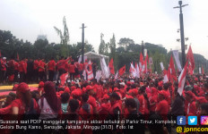PDIP Kampanye Akbar, Restu Hapsari Optimistis Gaet Suara Swing Voters - JPNN.com